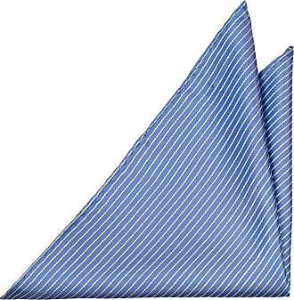 Handkerchief - Green silk knit with thin blue stripes. - Notch WERNER Notch 1odYSpWj