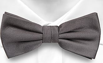 Cravate Pré Égalité Arc - Twill Gris Clair Avec Des Points De Pin Gris Foncé Encoche MuxsLI
