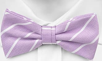 Pre tied bow tie - Roses in purple & white on pale purple base Notch zJVt5