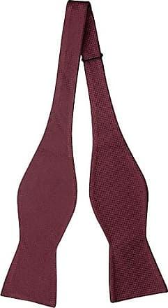 Cravate Auto Cravate Arc - Petits Points De Pin Blanc Sur Cran Bordeaux SLWmA0lZ9