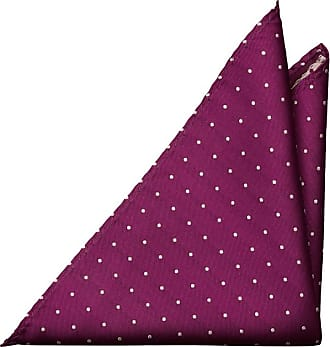 Pocket Square - Solid black with tone-in-tone floral pattern Notch 7G61l