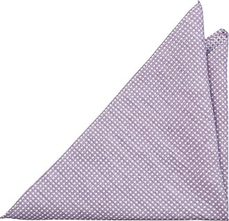 Carré De Poche - Lin Violet Pâle Avec Un Mini-points De Diamants Encoche cRSB3KcMg