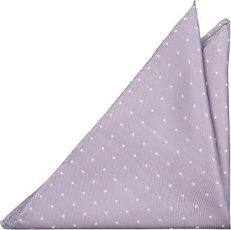 Pocket Square - Small white dots on purple base Notch uBbclUjj