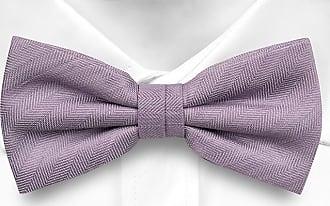 Cravate Pré Égalité Arc - Bleu Clair Avec Encoche Motif À Chevrons Ton Sur Ton r471Zw