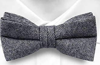 Untied Bow Tie from Tieroom, Notch OZZY has a solid base in pitch-black Notch