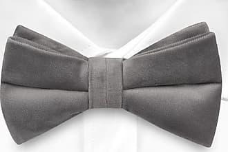 Pre tied bow tie - Grey Stripes on zigzag - Notch KOLYA Notch Xgs6mPE9Z
