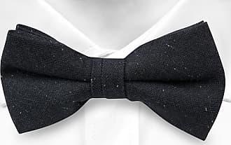 Cravate Pré Égalité Arc - Bleu Marine Ultra Foncé Avec Cran De Petites Taches Blanches Minuscules R1kE5lPN
