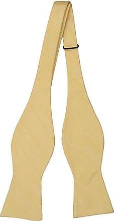 Cravate Auto Cravate Arc - Lin Jaune Avec Cran De Herringbones U4KRJM3U