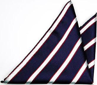 Handkerchief - Scarlet red knitted silk with white edges - Notch JULES Notch 4JXovhScRx