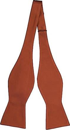 Cravate Auto Cravate Arc - Solide Rouge Vif Avec Le Ton De Feuilles Dans L'encoche De Ton oh3fLI6El2