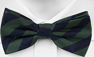 Motif Rayé En Bleu Marine - - Arc Auto-cravate De Soie Cravate Cran Encoche Hilding 7AK3b