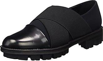 Nr Rapisardi F900, Fermé Chaussures À Talons Pour Les Femmes, Pointe Noire (saints Noirs / Mode Lurex-e 01er / Lx), 40 Eu