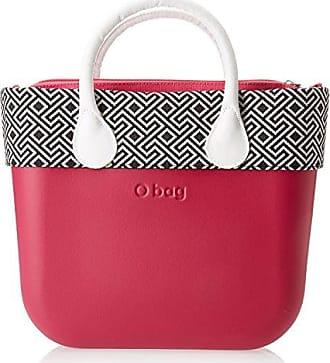 OBAG Damen B002_076 Henkeltasche, Multicolore (Rosso), 11x31x40 cm O bag