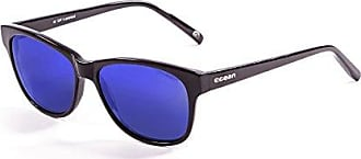 OCEAN SUNGLASSES Mr.Franklin - lunettes de soleil polarisÃBlackrolles - Monture : Noir LaquÃBlackroll - Verres : Revo Bleu (71001.1) 5Ljo3