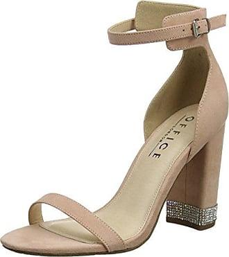 ON Tops, Zapatos de Tacón con Punta Cerrada para Mujer, Multicolor (Stripe Canvas 90210), 37 EU Office