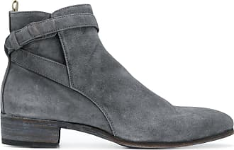 Boots for Men, Booties On Sale, Tobacco, Suede leather, 2017, 5.5 8 9 Officine Creative