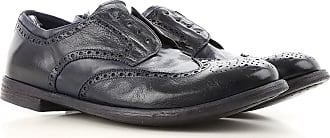 Lace Up Shoes for Men Oxfords, Derbies and Brogues On Sale, Black, Leather, 2017, 5.5 6.5 6.75 8 8.5 9 Officine Creative