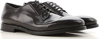 Oxford Shoes for Men On Sale, Black, Calfskin Leather, 2017, 9 Officine Creative
