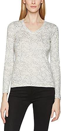 Olsen T-Shirt Femme, (Ivory Melange), 10 (Taille Fabricant: 36)