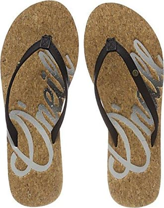 Bascule Solide O'neill Flops, Chanclas Para Mujer, Schwarz (black-out 9010), 42 I