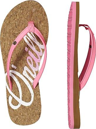 O'Neill Damen FW Logo Cork Flip Flops Zehentrenner, Pink (4091 Shocking Pink), 42 EU