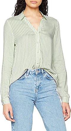 Only Onldisc L/s Shirt Wvn, Blusa para Mujer, Multicolor (Sky Captain Checks:w. Shady Glade), Medium (Talla del Fabricante: 38)