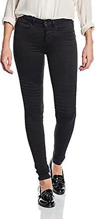 Onlpoptrash Thin Pinstripe Pant Rp Noos, Pantalon Femme, Noir (Black), 40/L34 (Taille Fabricant: Large)Only