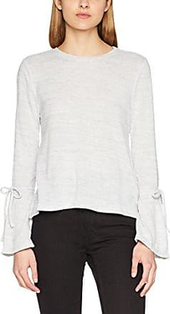 Onlwilma L/s Top Ess, T-Shirt à Manches Longues Femme, Gris (Pumice Stone Detail:Melange), 38 (Taille Fabricant: Medium)Only