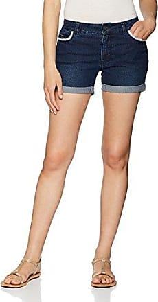 Only 15115301, Pantalones Cortos para Mujer, Azul (Medium Blue Denim), W27