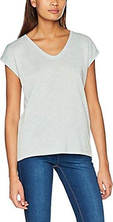 Onlvenus Modal V-Neck S/s Top, T-Shirt Femme, Marron (Silver Mink Silver Mink), 34 (Taille Fabricant: X-Small)Only