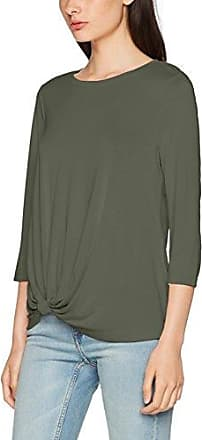Onlmiley 3/4 Knot Top Ess, T-Shirt à Manches Longues Femme, Vert (Agave Green), 40 (Taille Fabricant: Large)Only