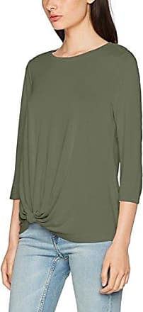 More & More T-Shirt, Camiseta de Manga Larga para Mujer, Verde (Muddy Olive 0669), 40
