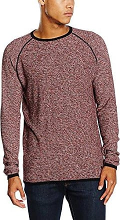 onsDONALD Crew Neck Knit, Pull Homme, Rouge (Rosewood), X-LargeOnly & Sons