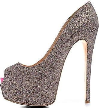 Damen High Heels Pumps - Champagne Pink, EU 39