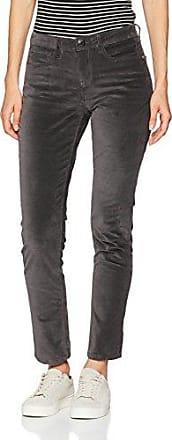OPUS Ette, Pantalones para Mujer, Gris (Slate Grey Melange 8055), W38
