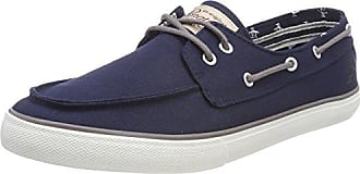 Original Penguins Faze, Zapatillas para Hombre, Marfil (Off White Canvas/Navy 660), 46 EU