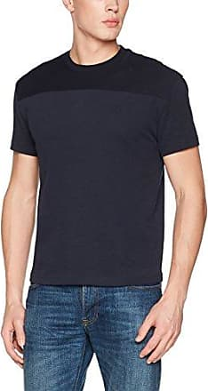 Original Penguin Sueded Pieced, Polo Homme, (Dark Sapphire 413), M