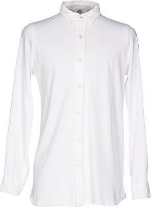 Camiseta de Hombre Baratos en Rebajas, Blanco, Algodon, 2017, M Original Vintage Style
