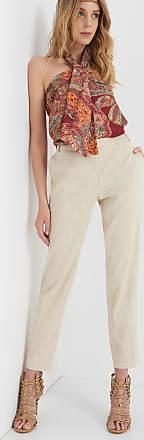 Ankle-Hose aus Leinen ORSAY