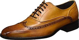 Ortiz & Reed Simarro, Zapatos de Cordones Derby para Hombre, Marrón, 40 EU