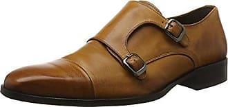 M18855, Zapatos Monk Strap Hombre, Marrón, 41 EU Redtape