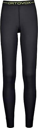 145 Ultra Long Pants Merinounterwäsche für Damen | schwarz Ortovox