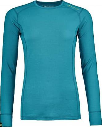 145 Ultra Long Sleeve Merinounterwäsche für Damen | türkis Ortovox