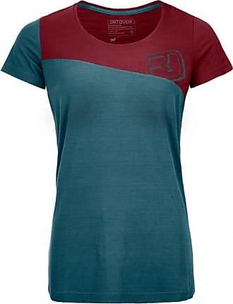 150 Cool Logo T-Shirt T-Shirt für Damen | blau/rot Ortovox