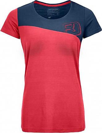 150 Cool Logo T-Shirt T-Shirt für Damen   rot/rosa/blau Ortovox