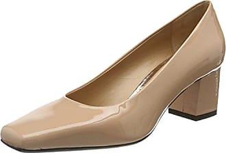 Sole 100, Zapatos de Tacón con Punta Cerrada para Mujer, Gris (Grey Grey), 40 EU Oxitaly