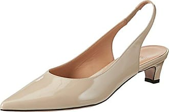 Pupa 400, Zapatos de Tacón con Punta Cerrada para Mujer, Marfil (Riso Riso), 38 EU Oxitaly