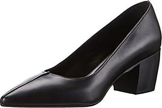 Oxitaly Sissi 12, Zapatos de Tacón con Punta Cerrada para Mujer, Negro (Nero Nero), 38 EU