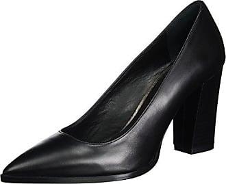 Stefy 316, Zapatos de Tacón con Punta Cerrada para Mujer, Negro (Nero Nero), 41 EU Oxitaly
