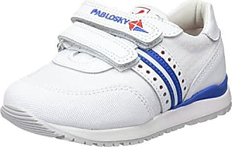 Pablosky 021905, Zapatillas para Niños, Blanco (Blanco 001), 19 EU